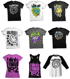 Who's off to see Blink-182 this month? We've got loads of merch in stores and online now, all band tees are still Buy one Get one Half Price in stores!(subject to availability)     http://www.thisispulp.co.uk/bands/