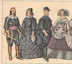 Nº 1 Felipe IV con arreos de guerra. Nº 2 La infanta Dª María de Austria reina de Hungría. Nº 3 El infante D. Fernando en traje de caza. Nº 4 La reina Dª Mariana de Austria.