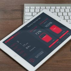 Tesla PowerWall App by Marco Magro #iosmuse #app #appdesign #behance #design #designer #dribbble ...