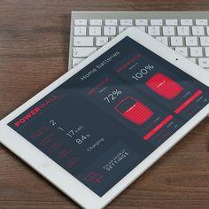 Tesla PowerWall App byMarco Magro #iosmuse #app #appdesign #behance #design #designer #dribbble ...
