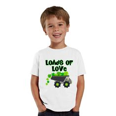 Loads of Love Shamrocks personalized shirt by shirtsbynany on Etsy