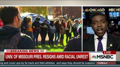 National Director of NAACP Youth and College Division, Stephen Green, joins NBC's Andrea Mitchell to discuss the recent announcement that the President of the University of Missouri resigned after racial inequality on campus and also comments on how...