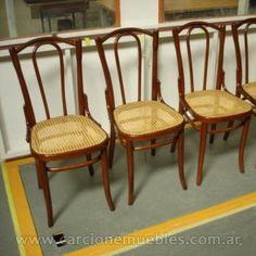 juego de silla thonet