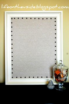 Nailhead Trim Corkboard [Ballard - Inspired]