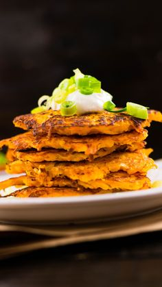 5-Ingredient Butternut Squash Fritters ~ Healthy AF | Tastemade