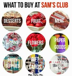 Party Planning Tips with Help From Sam's Wholesale Club Wedding Planning Checklist, Party Planning, Saving Ideas, Money Saving Tips, Sams Club Shopping, Little Man Party, Mo Money, Cool Things To Buy