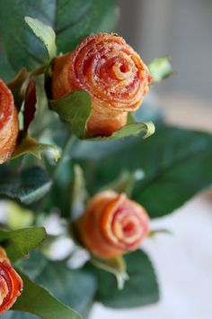 How to make a Bacon Bouquet for Valentine's Day! It's probably the most romantic display of affection, ever.