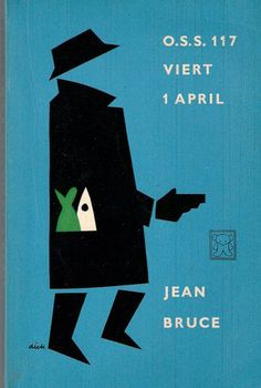 Dick Bruna // Lovely old cover design, with all the poignancy of faded futurism.