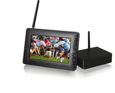 Azend Group Envizen Home Roam TV - Portable, Personal 7 Inch LCD Receiver for all Cable /TV Channels HR701, Black by Azend Group. $149.99