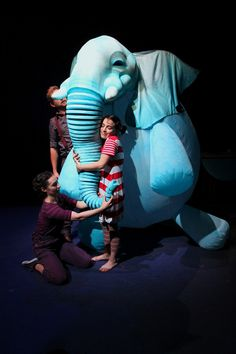 Elephantom- National Theatre (Sculptor/puppet maker) on Behance