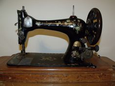 1899 Singer 3 VS treadle sewing machine.  Moves freely, but I need a replacement tension spring.