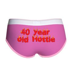 40th Birthday Womens Boy Brief