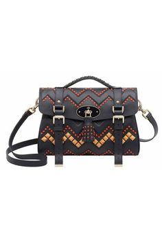 Best Bags in Mulberry Even with zig-zag beading and graphic studs, the timeless appeal of a Mulberry satchel will never fade. Stylish Handbags, Best Handbags, Cheap Handbags, Purses And Handbags, Mulberry Satchel, Mulberry Alexa, Sacs Design, Crossbody Bag