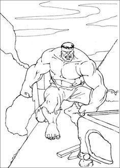 Great Hulk Coloring Pages Printable - Free Coloring Sheets Hulk Coloring Pages, Super Coloring Pages, Superhero Coloring Pages, Free Coloring Sheets, Coloring Pages To Print, Printable Coloring Pages, Coloring Pages For Kids, Hand Coloring, Coloring Books