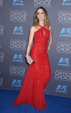 Emily Blunt in Pucci | The 2015 Critics' Choice Awards