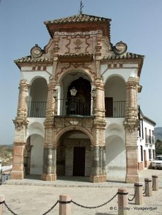 Architecture flamboyante, plaza Portichuelo, Antequera, España, Andalucia