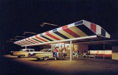 1950s, Jet Drive-in