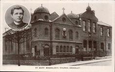 Brockley. St Mary Magdalen's Church & Rev. Father Louis Deydier.