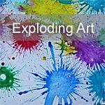 Exploding Art - definitely going on the must-try list!