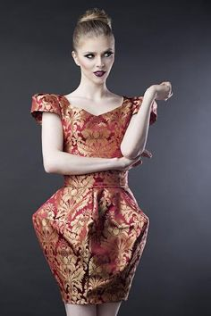 Fashion designer  - dress : Gabriela Hezner Photographer : Agnieszka Nowicka make-up : Catherine Pytlos model Karolina Ogiołda