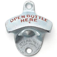 wall mounted bottle opener from Pedlars