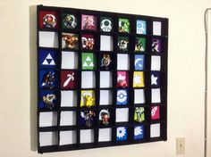 Great idea for displaying and organizing your amiibos! :)