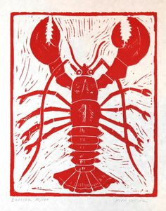 In season - June, lobster