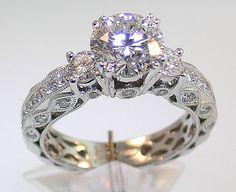 Antic wedding ring