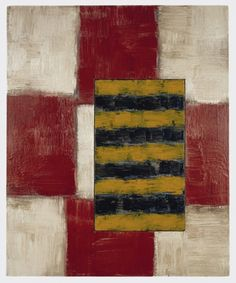Sean Scully / Skerry 1992 Oil on linen 36 x 30 in (91.4 x 76.2 cm)