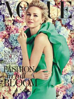 She is so beautiful.  Naomi Watts, Vogue Australia February 2013
