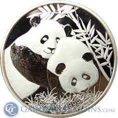 2012 China 5 oz Proof Silver Panda - Singapore International Coin Fair (With Box) Peace Dollar, Gold And Silver Coins, Silver Bullion, Commemorative Coins, Silver Eagles, Silver Dollar, Precious Metals, Ephemera, Singapore