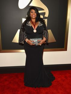 GRAMMY nominee Maysa arrives at the 56th Annual GRAMMY Awards on Jan. 26 in Los Angeles