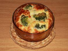 Suflé coliflor y brócoli con queso sin lactosa