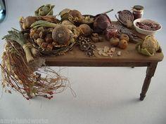 European artisan table with veggies