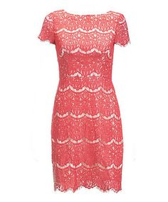 Look at this #zulilyfind! Red Berry Lace Candice Dress by Darling #zulilyfinds