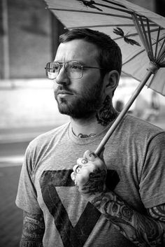 Dallas Green - City and Colour. For some reason this photo intrigues me.