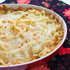 Baked Squash Pasta - use spagetti squash instead of the fettuccine