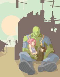 Fallout 3 - Lazy Days by zeratanus
