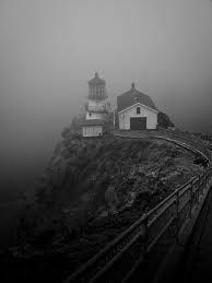 Lighthouse - hiding in the fog