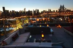 rooftop terrace nyc - Google Search