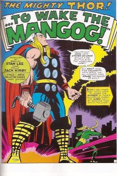 Written by Stan Lee and illustrated by Jack Kirby The Mighty Thor #154 July 1968