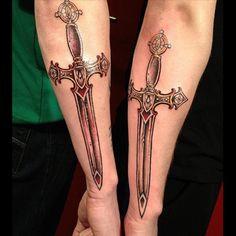 Sword Tattoo Meanings | iTattooDesigns.com
