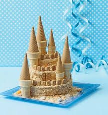 Bolo Castelo de areia