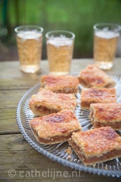 appelkoek met kaneel Let Them Eat Cake, Finger Foods, Cereal, French Toast, Snacks, Breakfast, Recipes, Morning Coffee, Finger Food
