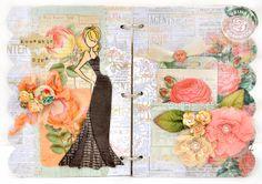 Doll Collection - Mini Album for Prima-Julie Nutting - Scrapbook.com