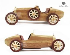 Bugatti Type – – replica collectible – Best Baby And Baby Toys Wooden Toy Cars, Wooden Plane, Wooden Truck, Wood Toys, Cardboard Car, Wood Carving Art, Woodworking Toys, Wood Turning Projects, Wooden Animals