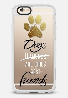 Dogs are girls best friends! iPhone 6 case by Emanuela Carratoni | Casetify