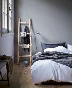 Ladder als nachtkastje VT wonen