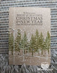 Magical Scrapworld: festival of trees kaart - Cynthia van der Wilk - Oct 7/14