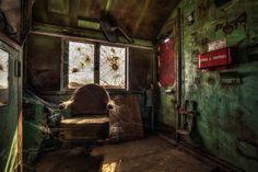 La extraña belleza de lugares abandonados a punto de desaparecer